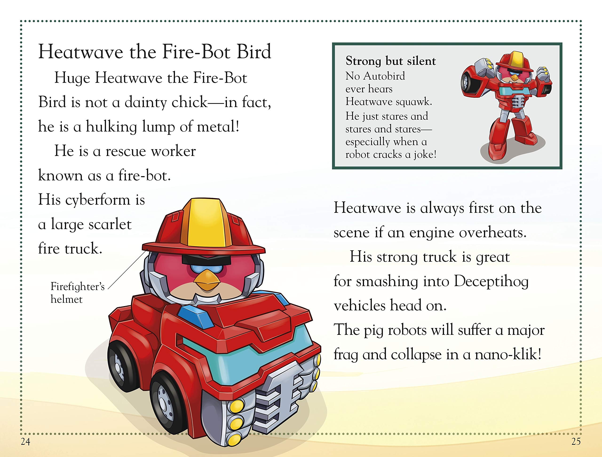 DK Readers L2: Angry Birds Transformers: Robot Birds in Disguise by DK Children