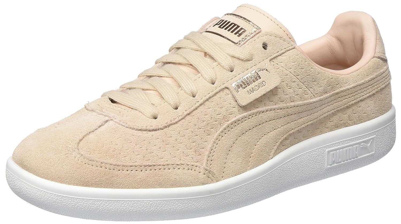 Puma Damen Madrid Perf Suede WNs Sneaker  37.5 EU|Beige (Cream Tan-puma White-rose Gold)