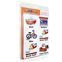 SchKIDules Visual Schedules for Kids 93 Pc Home Collection for Daily Routines, Behavioral Supports & Communication: 72…