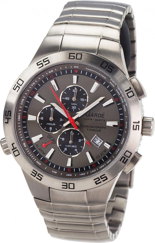 GardÉ® Chrono Men's watch Titanium Case