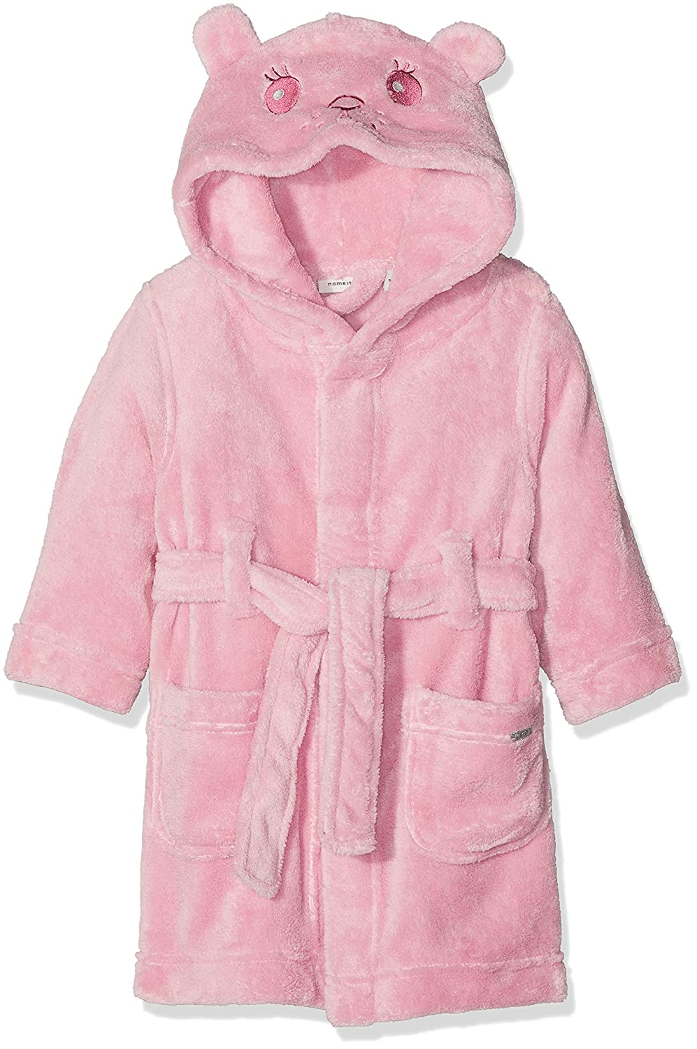 NAME IT Baby-Mä dchen Bademantel Nmfratti Bathrobe 13163895