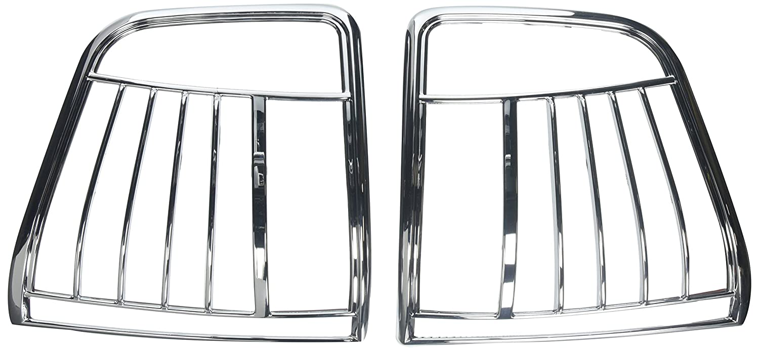 Putco 400802 Chrome Tail Light Cover for Select Chevy Models