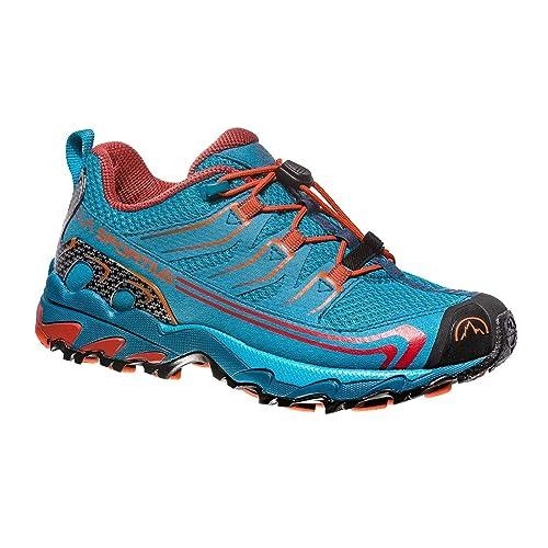 La Sportiva Falkon Low 36-40, Zapatillas de Senderismo para Mujer, (Tropic