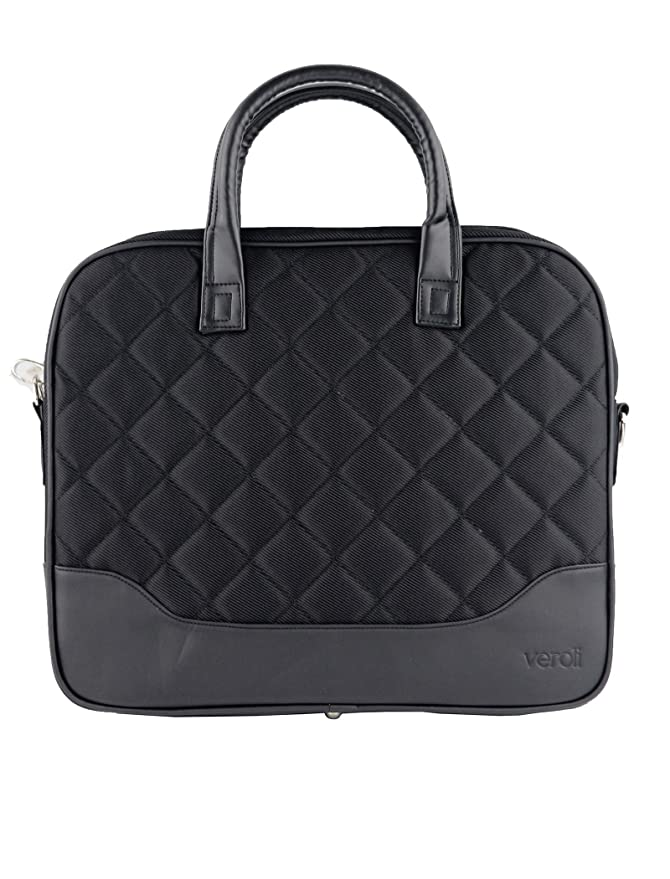 a63cfb562 Women Laptop Bag Black -Ladies 2 Handle Laptop Handbags - Briefcase  Business Smart Work Bags 15 inch: Amazon.co.uk: Luggage