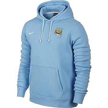 Nike MCFC Core Hoody - Sudadera Manchester City 2015/2016 para Hombre, Color Azul/Blanco, Talla S: Amazon.es: Deportes y aire libre