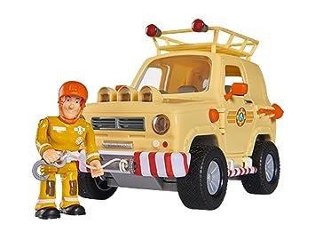 Simba 109251001 Feuerwehrmann Sam Tom S 4 X 4 Geländewagen Amazon