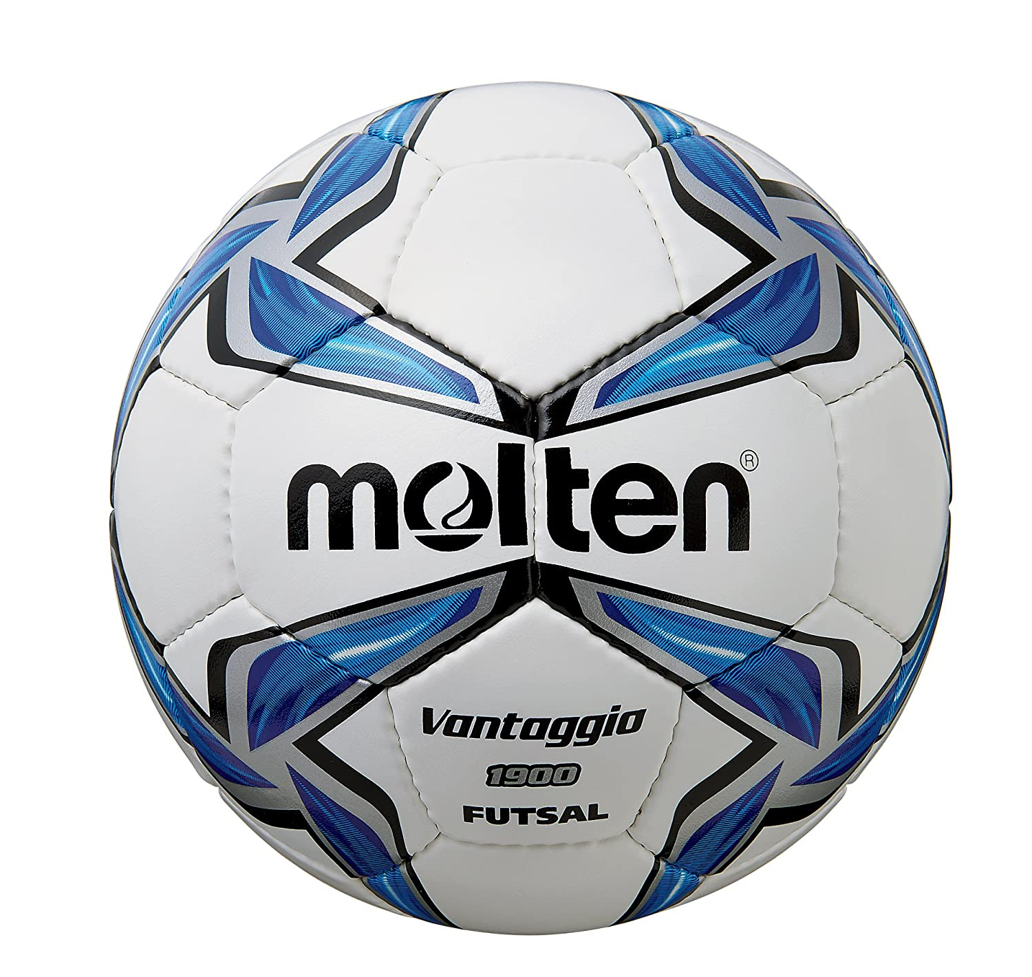 MOLTEN Synthetic Leather - Balón de fútbol Sala, Color Blanco ...