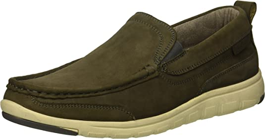 Kenneth Cole REACTION Men's FRED Slip ON Boat Shoe, Grey, 9.5 M US