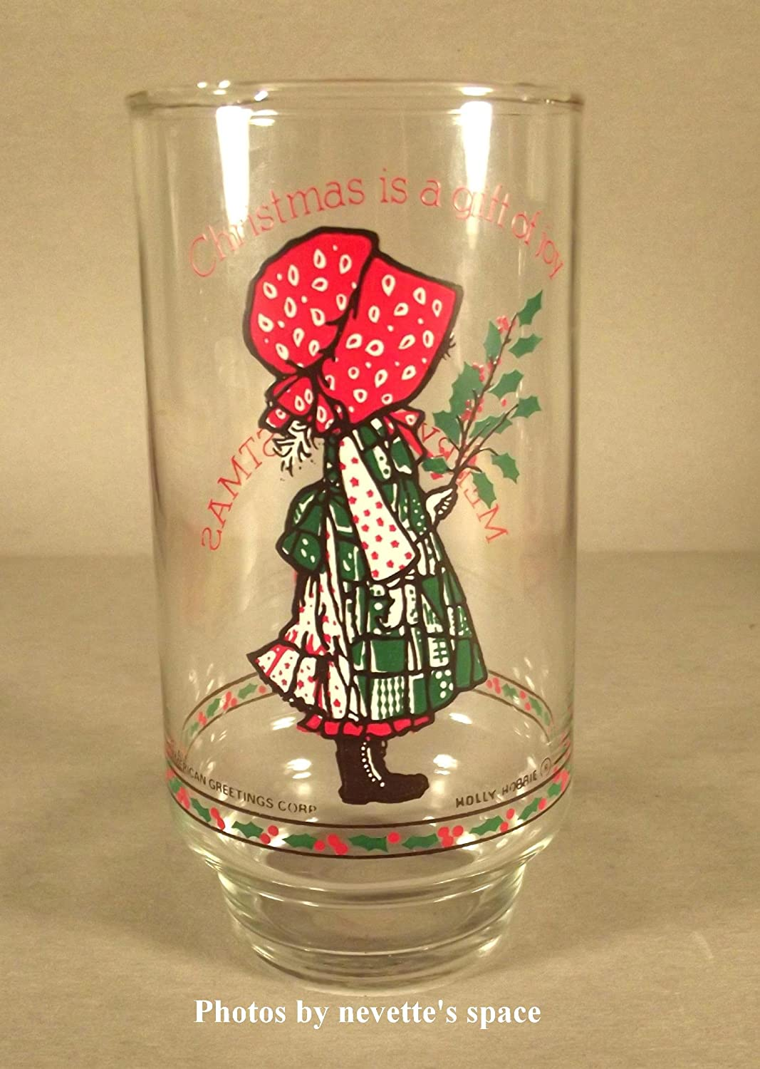 Amazon collectible holly hobbie drinking glass mug amazon collectible holly hobbie drinking glass mug christmas is a gift of joy 16oz other products coffee cups mugs reviewsmspy