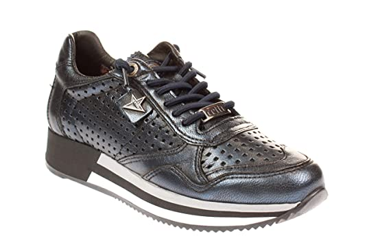 Cetti C848 SRA - Damen Schuhe Sneakers - Antic-Petroleo