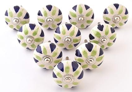 Set di 20 pomelli in ceramica per armadio da cucina armadio ...