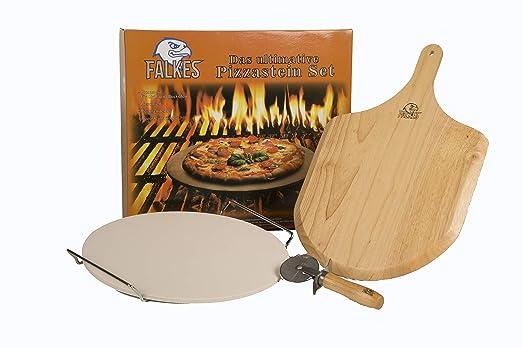 El innovador juego de piedra para pizza para horno y barbacoa ...