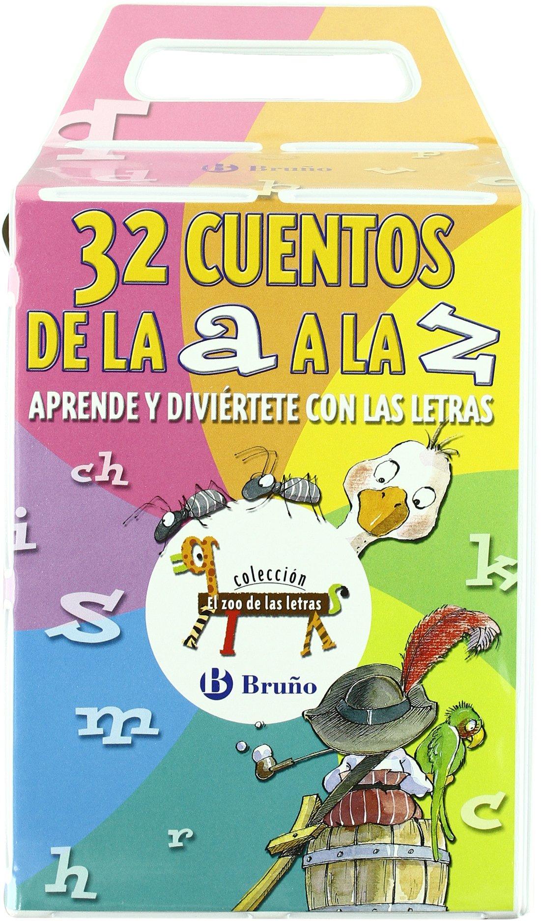 32 Cuentos de la A a la Z Castellano - A Partir De 3 Años - Libros ...