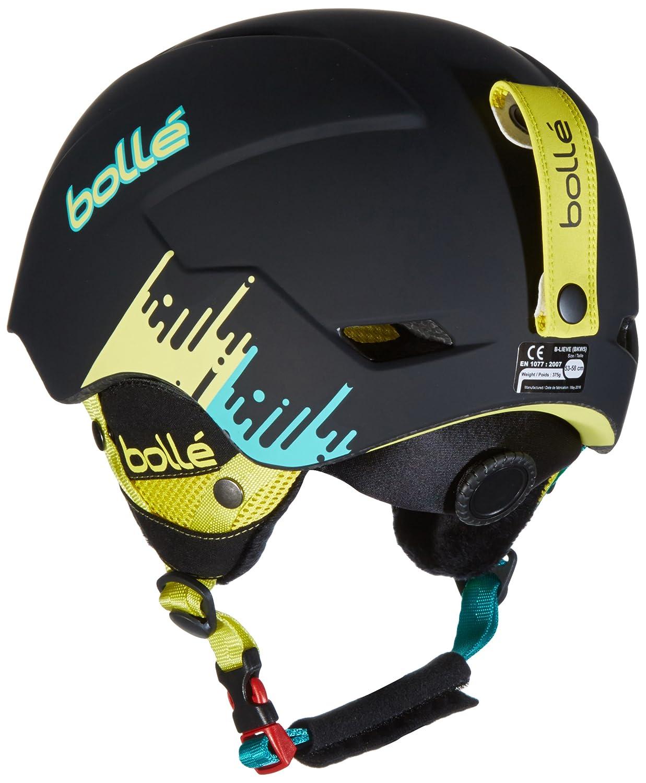ff60e33327 Bolle Unisex's B-Lieve Helmets, Matte Black Shout, 53-58 cm: Amazon.co.uk:  Sports & Outdoors