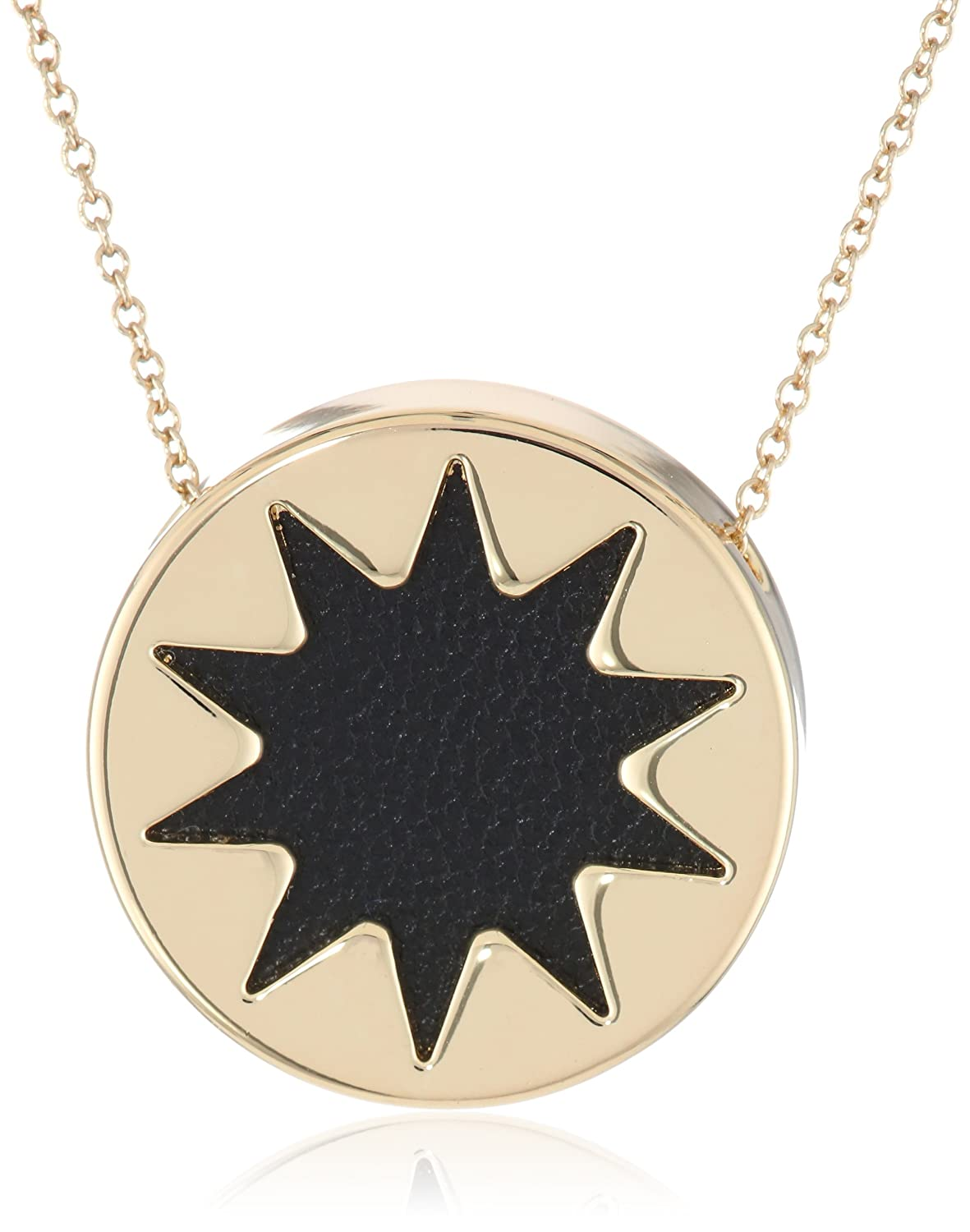 sunburst necklace small in pendant harlow products of house hoh silvertone mint