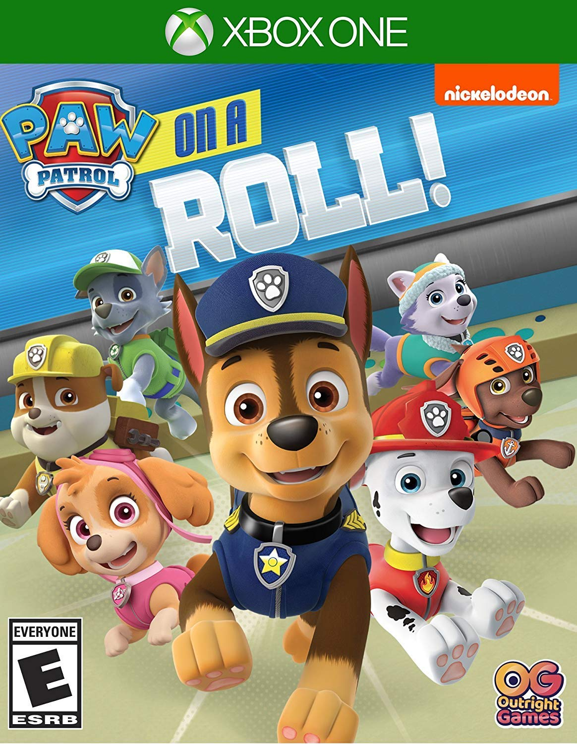 Amazon Com Paw Patrol On A Roll Xbox One Ui Entertainment Video Games