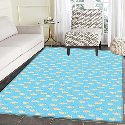 Amazon Com Fish Mats For Bedroom A Flock Of Swimming Fish