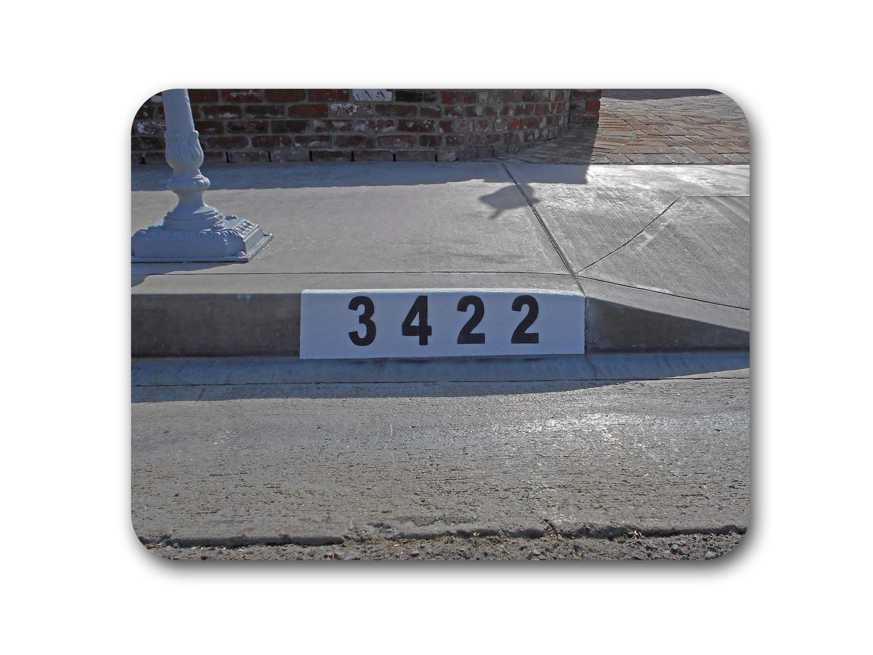 Curb Address Number Stencil, Customized for You!