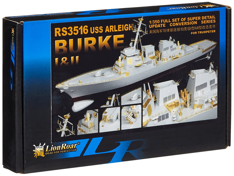 Lion Roar- modellolo di nave della marina statunitense, Destroyer Arleigh Burke classe Le II