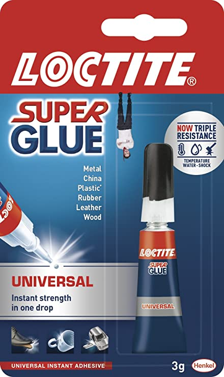 904267a4a8556 Loctite Super Glue Universal   Extra strong liquid glue for metal ...