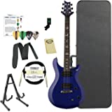 Paul Reed Smith Guitars ST22TB-Kit02 PRS SE Standard 22 Translucent Blue Electric Guitar with ChromaCast Hard Case & Accessories