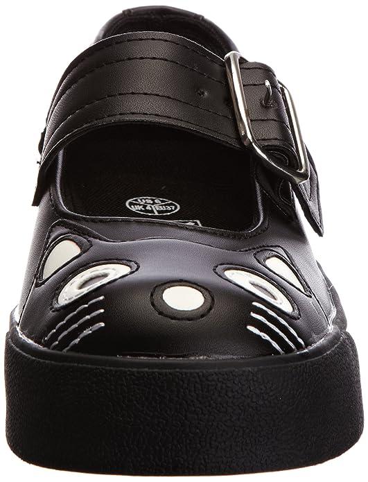 De Mary Teddy Tuk Material Sneaker Deporte Zapatillas Jane Punk gqpxY1