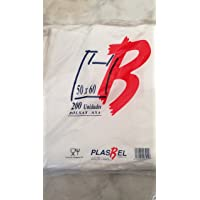Bolsas de Plastico Asa Camiseta (50 x 60