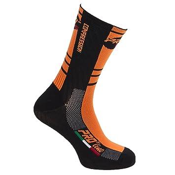 Proline Thermoline - Calcetines térmicos para ciclismo, triatlón y running (1 par),