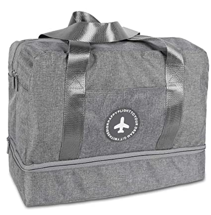 7ba2b046cf5d Sports Gym Bag with Shoes Compartment   Wet Pocket