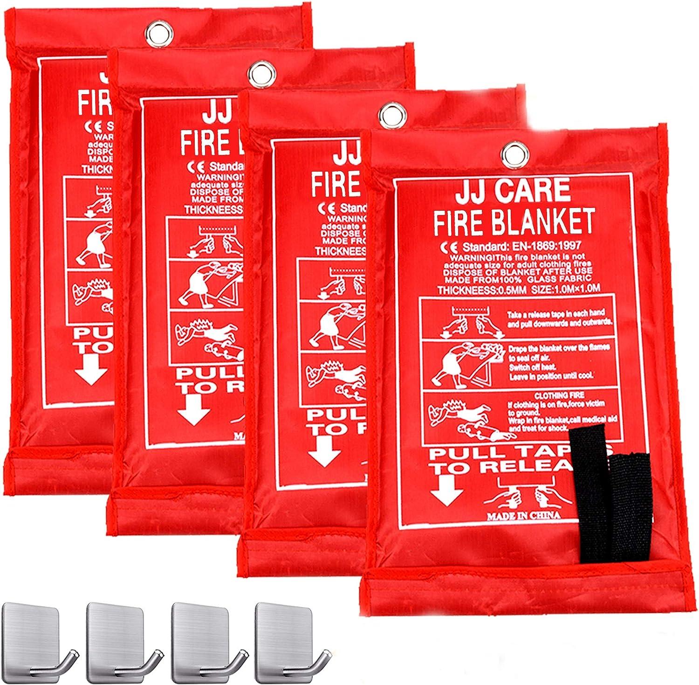 JJ CARE Fire Blanket Fire Suppression Blanket 40