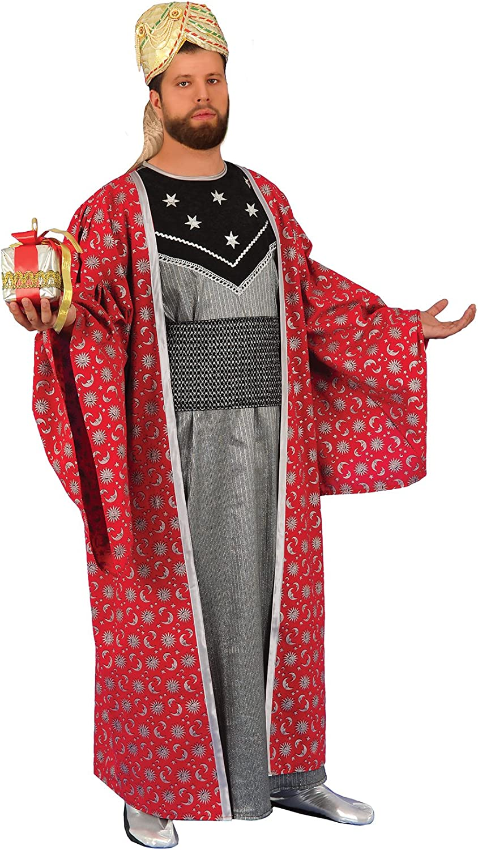 chiber - Disfraz Rey Mago Gaspar: Amazon.es: Juguetes y juegos