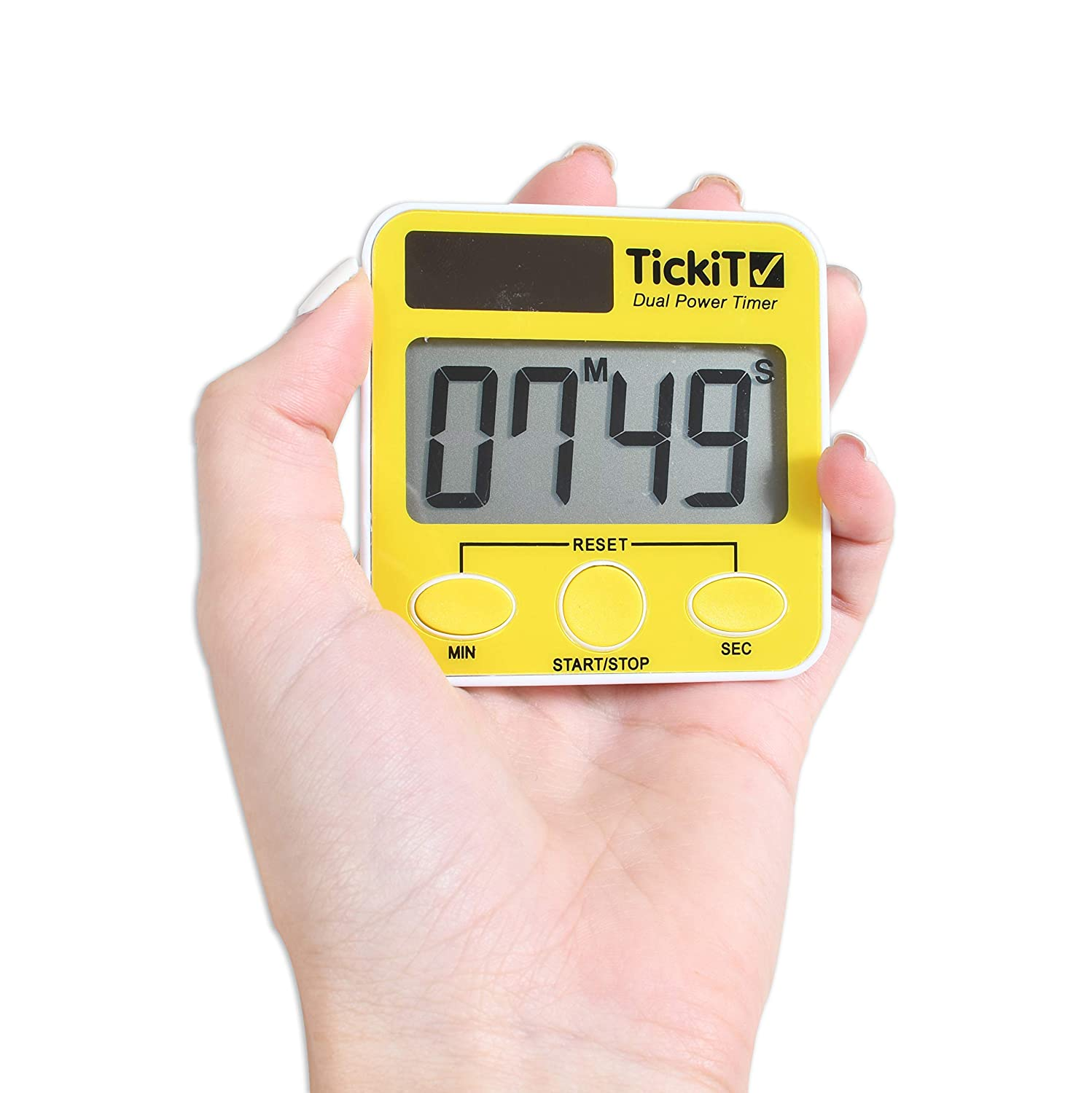 TickiT 92079 Dual Power Timer Set, 5 5 5 Stück c97190