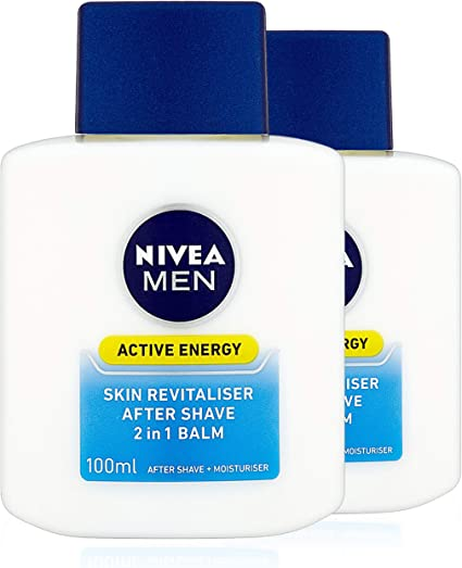 Nivea men - Q10, bálsamo revitalizante, pack de 2 (2x100ml ...