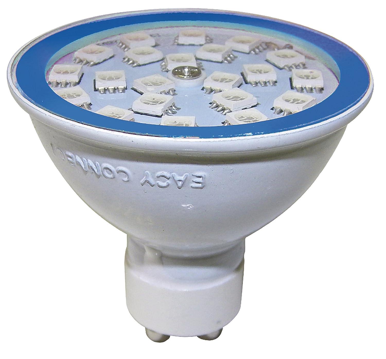 Super Easy Connect - LED Leuchtmittel GU10 MR20 - blau: Amazon.de JR-54