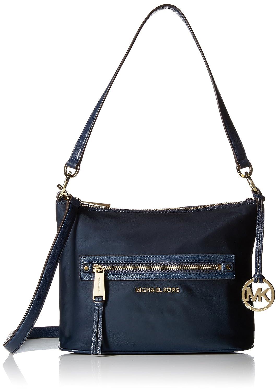 8e0b150e20e235 Michael Kors Rhea Zip Medium Convertible Shoulder Bag Navy: Handbags:  Amazon.com
