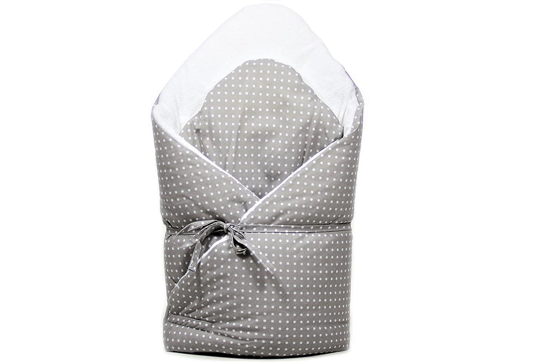 BABYHÖRNCHEN 100/% BAUMWOLLE Babynest Schlafsack Steckkissen FROTTE ekmTRADE