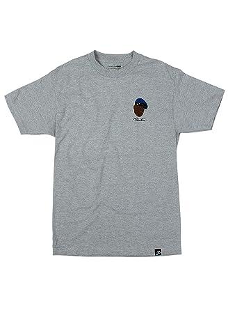 3e4a662849b0f Primitive Apparel Biggie Shades T-Shirt Heather Grey