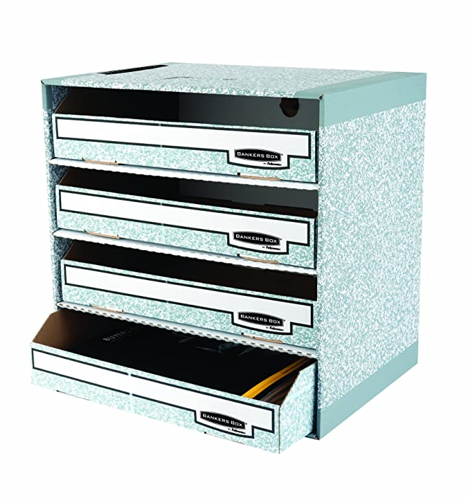 Amazon.com: Fellowes Bankers Box Archivo de sistema Caja de ...