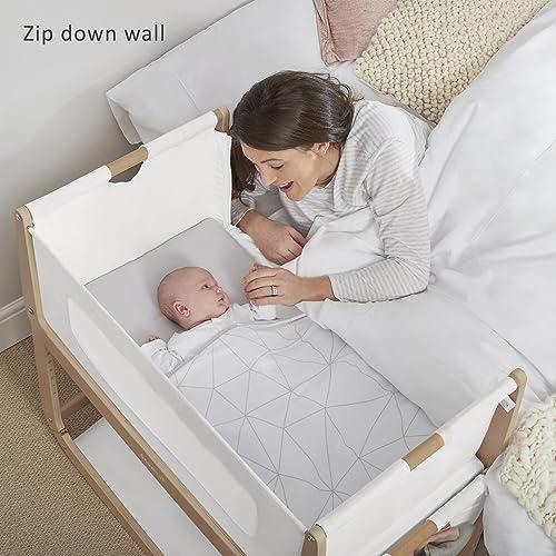 SnuzPod 3 Bedside Crib – Natural