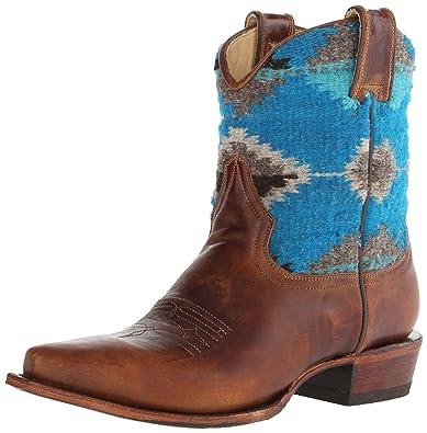 Women's Serape Snip Toe Ankle Boot