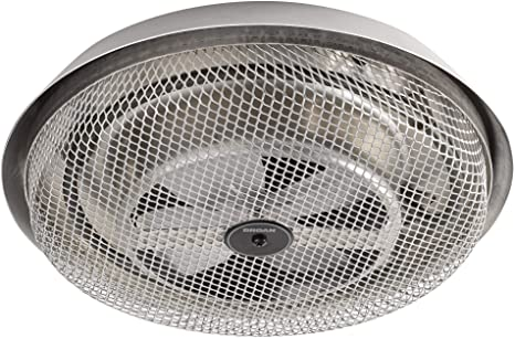 Broan-NuTone 157 Low-Profile Fan-Forced Ceiling Heater, Aluminum with  Enclosed Sheath Element for Bathroom, Kitchen, and Home, Standard - Utility  Heaters - Amazon.com