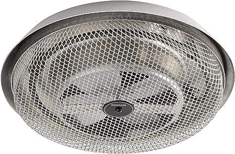 Broan Nutone 157 Low Profile Fan Forced Ceiling Heater Aluminum