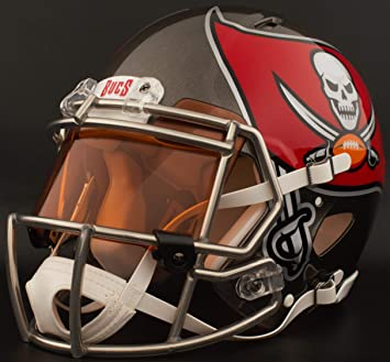 Image Unavailable. Image not available for. Color  Riddell Custom Tampa Bay  Buccaneers Full Size NFL Speed Football Helmet bb456b796