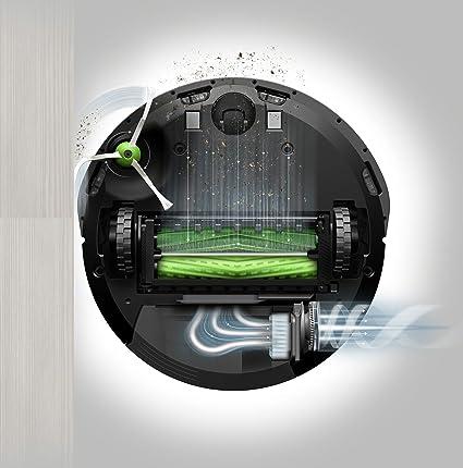 iRobot Roomba e5 Aspiradora robotizada, 0,6 L (Sin bolsa, Alrededor, Alfombra, Suelo duro, Laminado), Carbón vegetal: 367.32: Amazon.es: Hogar