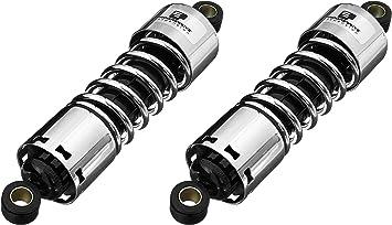 Progressive Suspension 412-4067C Chrome 11 Heavy Duty Replacement Rear Suspension Shock