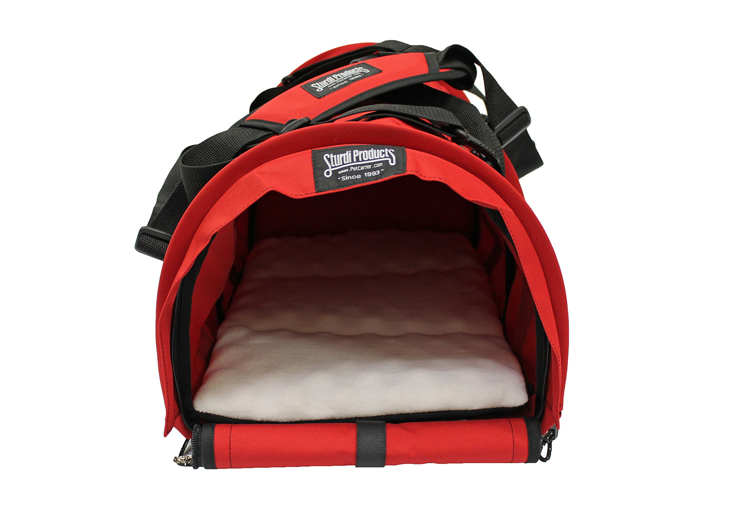 Sturdi Products Pet Carrier, Large, Red by STURDI PRODUCTS