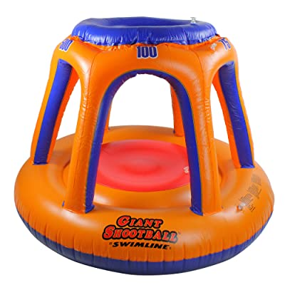 Blue Wave Giant Shoot Ball Inflatable Pool Toy: Toys & Games