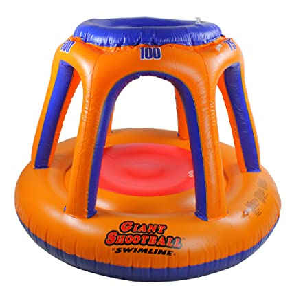 Amazon.com: Azul Ola gigante disparar bola inflable piscina ...