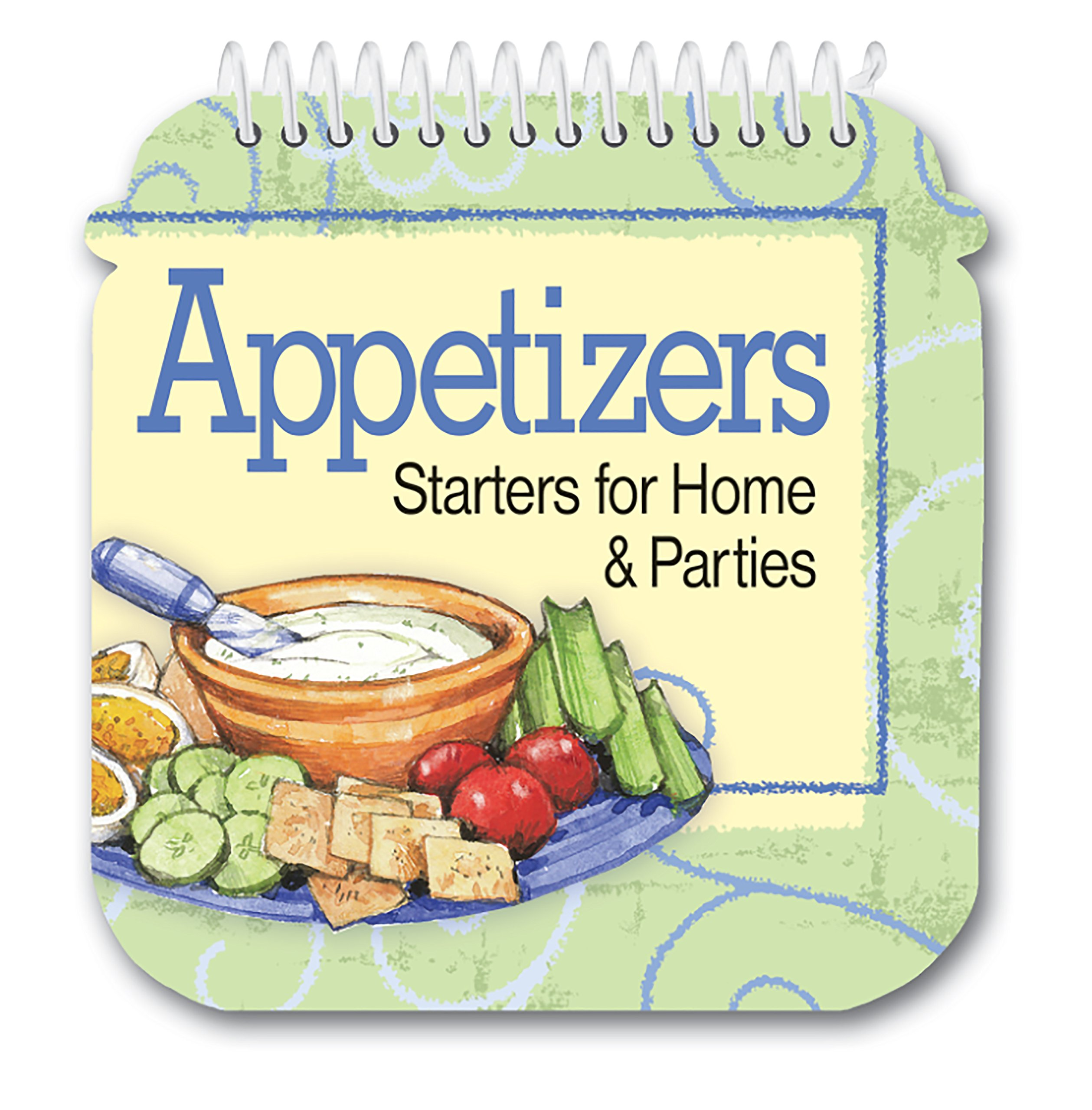 Download Appetizers - Starters for Home & Parties Die Cut Cookbook with Easel PDF