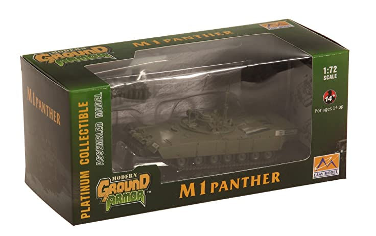 Amazon.com: Easy Model M1 Panther with Mine Roller Set Die Cast ...